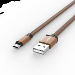 Адаптер Voltex Flat Easy V27 TXT Micro USB Gold