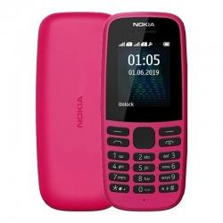 Мобильный телефон Nokia 105 Dual Sim 2019 Pink