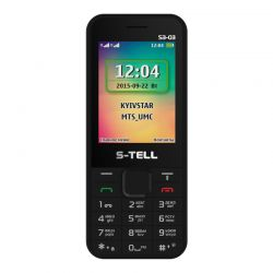 S-TELL S3-03 Black