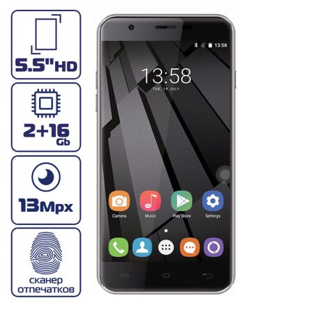 Oukitel U7 Plus Black
