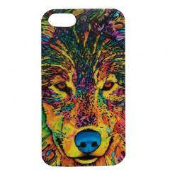 Чехол-накладка iPhone 5/5S Волк