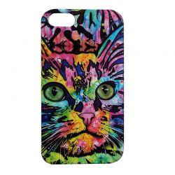 Чехол-накладка iPhone 5/5S Кот