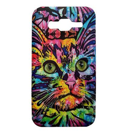 Чехол-накладка Samsung J510H Galaxy J5 Кот