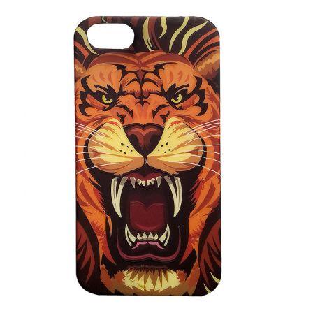 Чехол-накладка iPhone 5/5S Лев