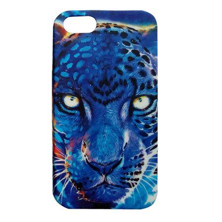 Чехол-накладка iPhone 5/5S Леопард