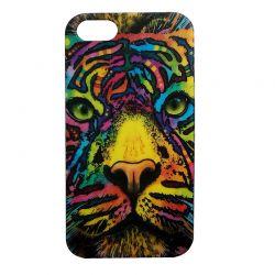 Чехол-накладка iPhone 5/5S Тигр