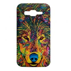 Чехол-накладка Samsung J510H Galaxy J5 Волк