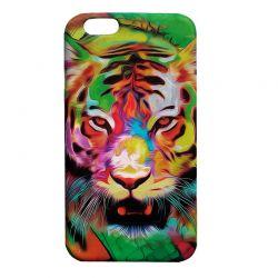 Чехол-накладка iPhone 6/6S Тигр Глянец