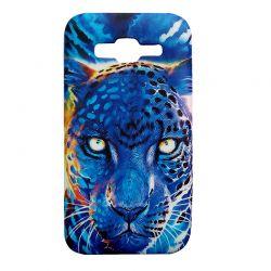 Чехол-накладка Samsung Grand Prime G530H Леопард Глянец