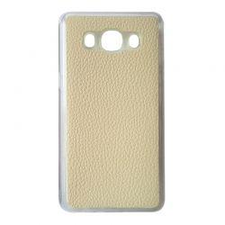 Чехол Leather для Samsung  J105 white