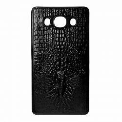 Чехол Leather для Samsung  J120 Crocodile blc