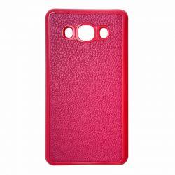 Чехол Leather для Samsung  J120 pink