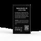 Аккумулятор VAMAX для Nokia Arte BL-4U 1250mAh
