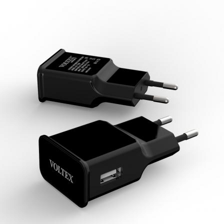Зарядное устройство Voltex MicroUSB 2A Black