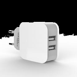 Зарядное устройство Voltex MicroUSB 3.1 A White