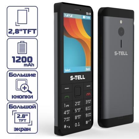S-TELL M460 Black