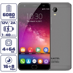 Oukitel K6000 PLUS Gray