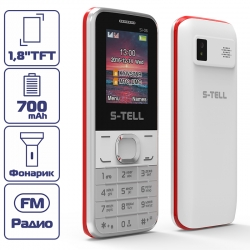 S-TELL S1-06 White-red