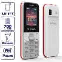 S-TELL S1-06 White-red