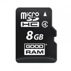 Карта памяти GOODRAM microSDHC 8GB Class 4