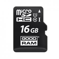 Карта памяти GOODRAM microSDHC 16GB Class 10
