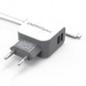 Зарядное устройство Energo+ 1.5A 2USB + microUSB