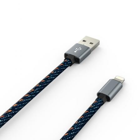 Кабель Jeans - Apple Lightning 2А Blue