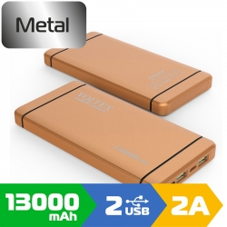 Зовнішній акумулятор Voltex 13000mAh VPBF1-250.21 Gold
