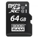 Карта памяти GOODRAM microSDHC 64GB Class 10