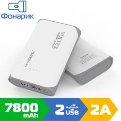 Зовнішній акумулятор Voltex 7800mAh VPB-320.11 Gray