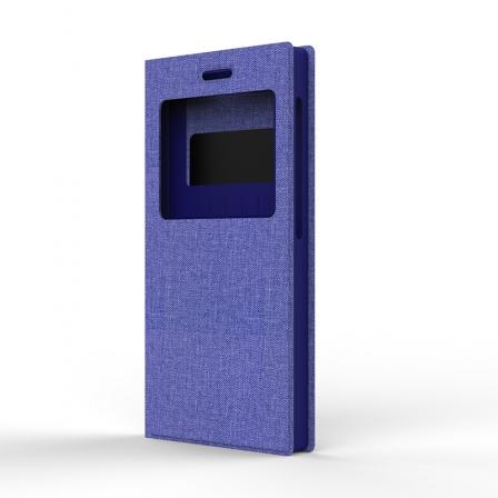 """Чехол универсальный S Design Texture Jeans 5,3-5"""" Violet"""