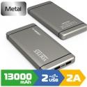 Зовнішній акумулятор Voltex 13000mAh VPBF1-250.21 Silver