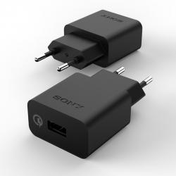 Зарядное устройство Quickcharge SONY 2A/9V Black