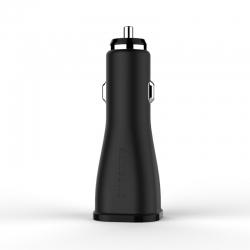 Автомобильное зарядное устройство Quickcharge Samsung S6 2A Black