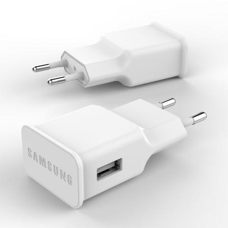 Зарядное устройство Samsung S4 1.55A/5V White