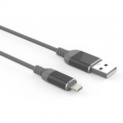 Кабель Reptile USB — microUSB Iphone 2А Gray
