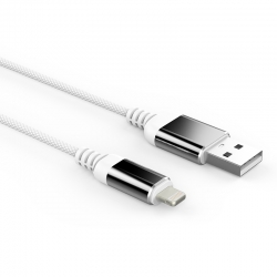 Кабель Reptile USB — microUSB Iphone 2А White