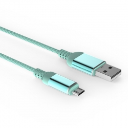 Кабель Reptile USB — microUSB Android 2А Blue