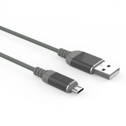 Кабель Reptile USB — microUSB Android 2А Gray
