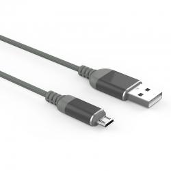 Кабель Reptile USB — microUSB Android 2А Gray