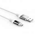 Кабель Reptile USB — microUSB Android 2А White