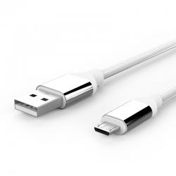 Кабель Furrow USB — microUSB Android 2А White
