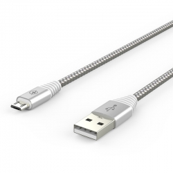 Кабель Flicker USB — microUSB Android 2А White