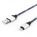 Кабель Zebra USB — Apple Lightning Iphone 2А White