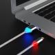 Кабель LED USB — Apple Lightning Iphone 2А White