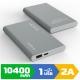 Внешний аккумулятор VAMAX 10400mAh VMX-2422 Gray