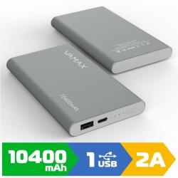 Зовнішній акумулятор VAMAX 10400mAh VMX-2422 Gray