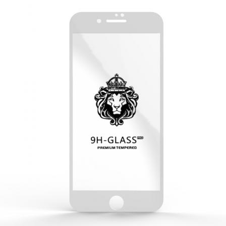 Защитное стекло Glass 9H iPhone 7/8 Plus White