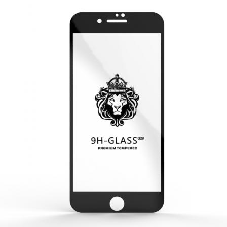 Захисне скло Glass 9H iPhone 7/8 Plus Black