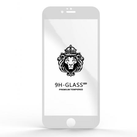 Захисне скло Glass 9H iPhone 6 Plus White